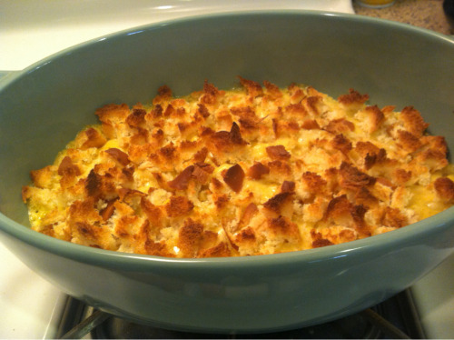 I made you guys some mac 'n cheese from scratch today. Happy 4th, tumblr!
