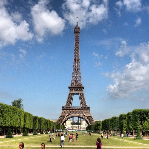 More #Eiffeltower #paris  (Taken with Instagram)