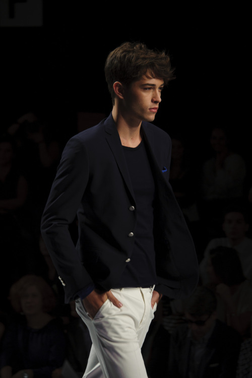 Francisco at Ermanno Scervino S/S 2013.