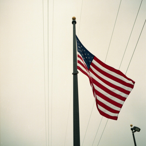 Ron's Flag. Hasselblad 500 C/M.