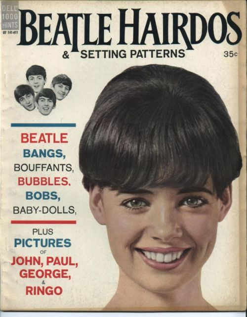 Beatle Hairdos and Setting Patterns, 1960s Source: Beatlepress See some classic photographs of The Beatles at Boom Underground, who is posting them as part of a month-long series on Hunks We Were Hot For, male heart-throbs from the 1960s & 70s.
