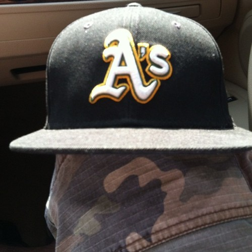 Always reppin my boys 😉👌👍⚾ #oakland #athletics (Taken with Instagram)
