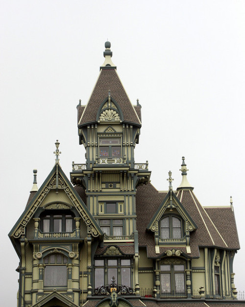 carson mansion by sistermorpheme on Flickr.