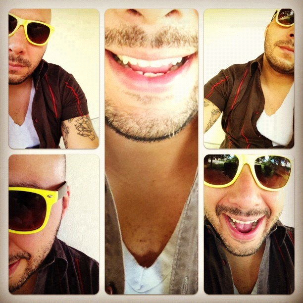 New sunglasses (Tomada con Instagram)