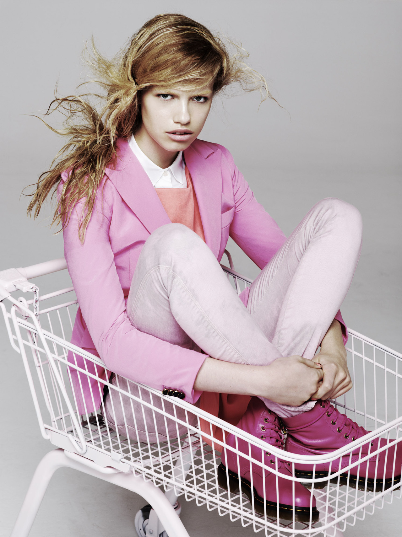 hailey clauson by aitken jolly for exit, s/s 2012