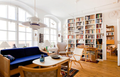 designexhibit:  Excellent Interior Design from exciting house in Stockholm
