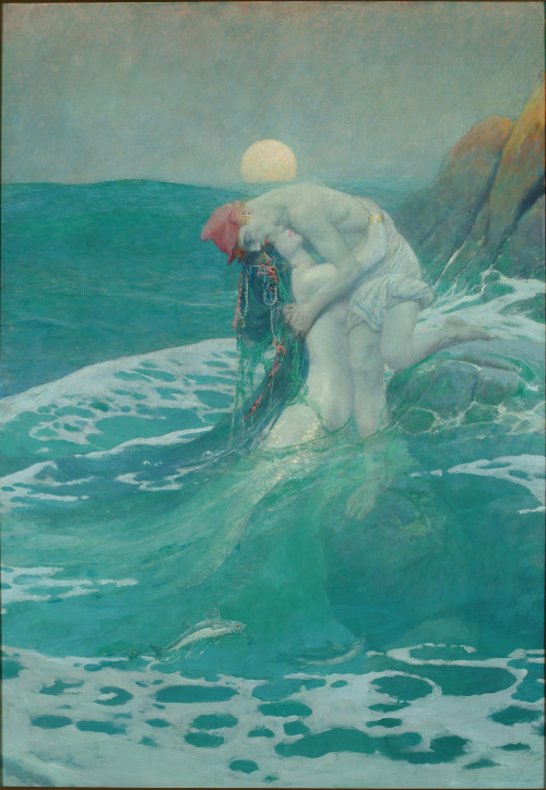 Howard Pyle, The Mermaid, 1910.