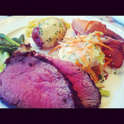 Fancy Fourth Dinner! (Taken with Instagram at Culinary Institute Of America)