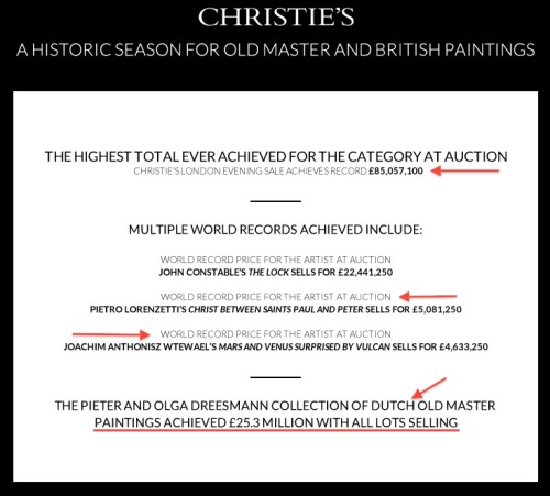 July 3rd was no ordinary Tuesday for Christie's.