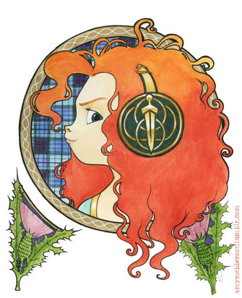 amymebberson:  Nouveau Merida.  Love this.