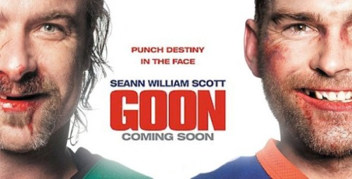 "I am watching Goon ""#101 of 2012 ""  21 others are also watching  Goon on GetGlue.com"
