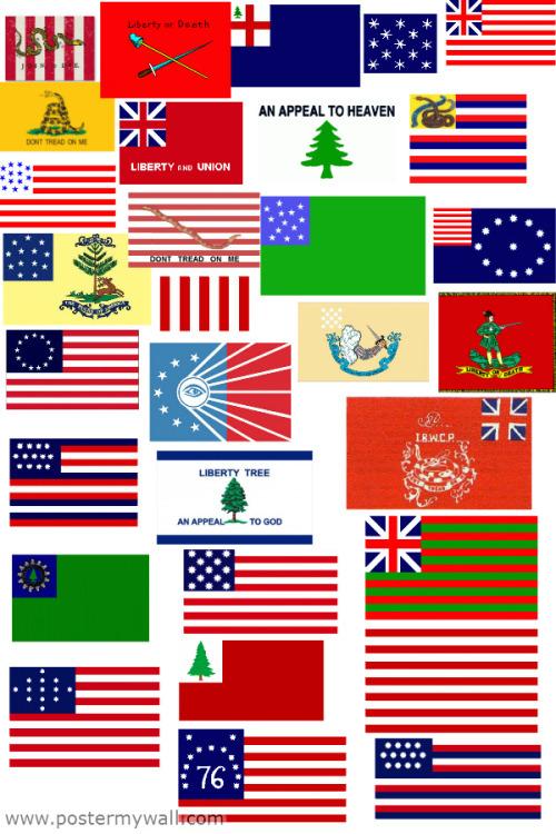 American Revolutionary War Flag History