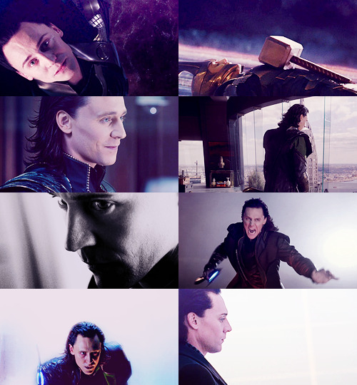 paratrooped:  color meme → Loki in purple (asked by rosewithsteelthorns)