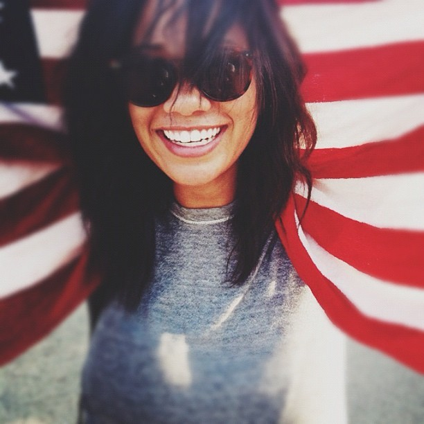 @meganlewismodel enjoying her fourth. Good times today. #happy4th #chicago  (Taken with Instagram)