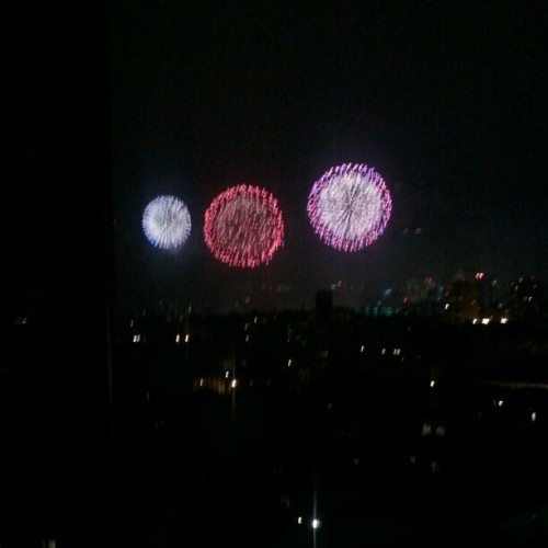 It's hard to take pics of fireworks (Taken with Instagram)