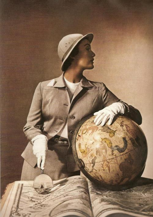 By the celebrated fashion photographer, Louise Dahl-Wolfe, 1930's-50's.