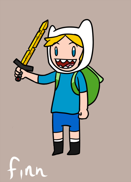 Adventure Time: Finn by *Purple-Neon Something i finished drawing. :)