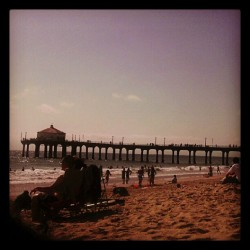 Manhattan beach  (Taken with Instagram)