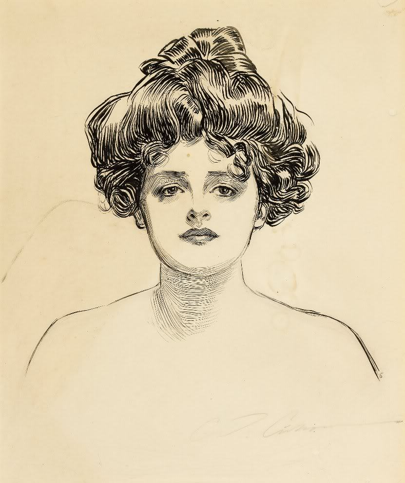 "Charles Dana Gibson - ""The Gibson Girl"""