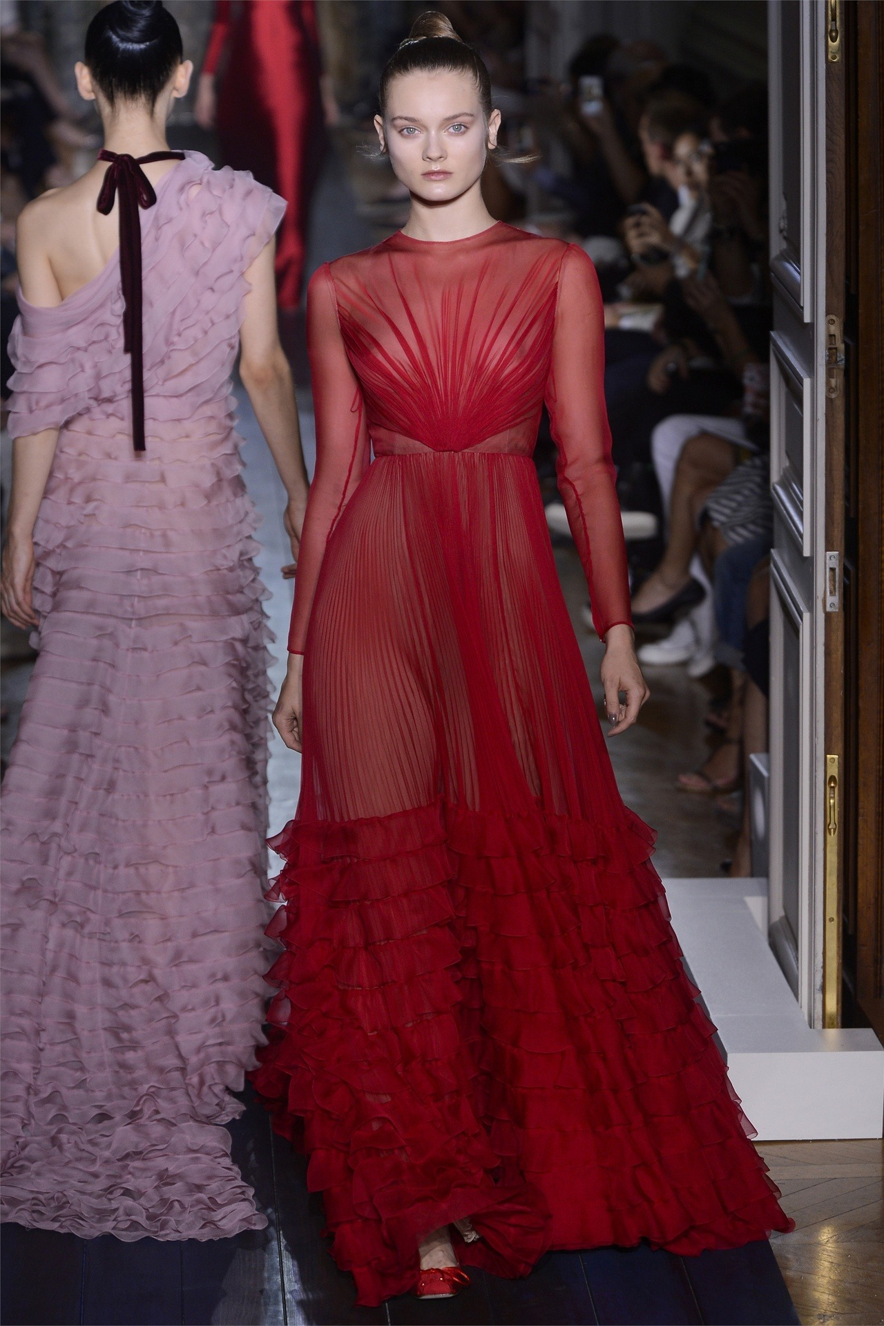 VALENTINO Haute Couture Fall/Winter 2012 Paris Fashion Week