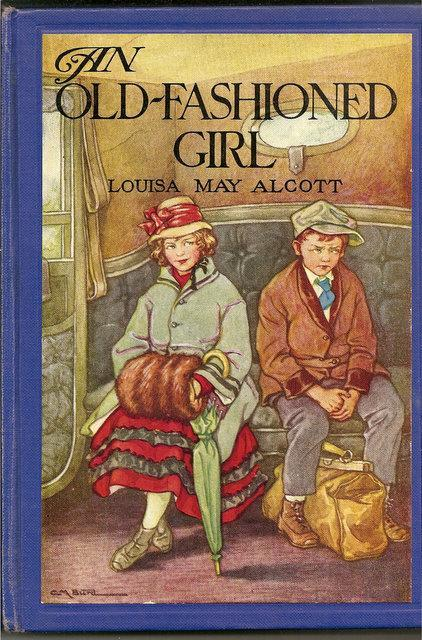 Old Fashioned Book Cover : Books and art an old fashioned girl louisa may
