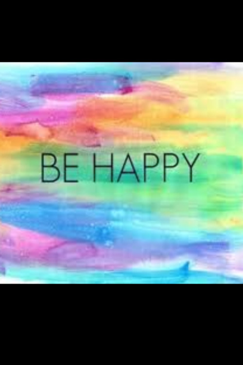 Be happy!!