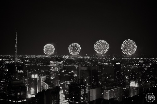 July 4th in B&W by Alberto Reyes