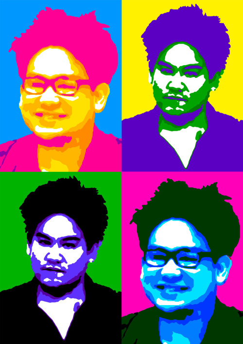 Pop-art of Prince 'Azim, Brunei. Photo taken from infofoto.