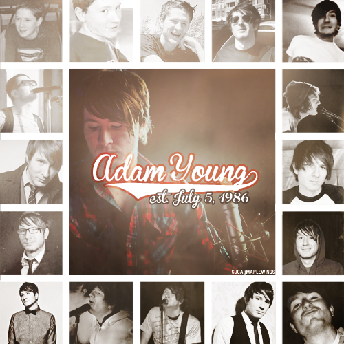 Happy 26th Birthday Adam Young!