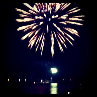 #forthofjuly #fireworks.  (Taken with Instagram)