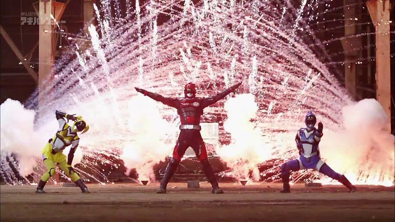 The only fireworks I need this Fourth of July. #sentai
