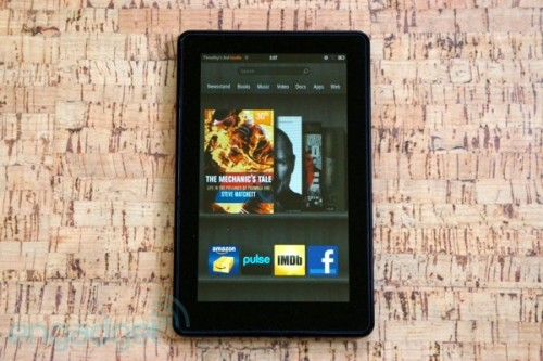Amazon's new Kindle Fire set to debut in early August? (update: maybe July) Michael Gorman, engadget.com We knew that there would be anoth­er Kin­dle Fire at some point, but we didn't know when it would arrive, or exact­ly what it'd look like. If the lat­est report from the China Times is true, how­ev­er, we can expect Ama­zon's new slate to s…