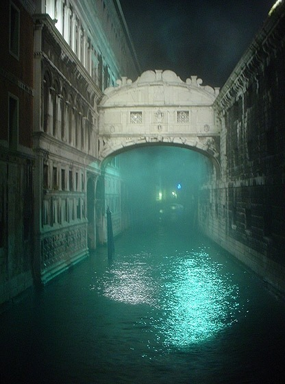 Fog,  Venice, Italy photo via suzanne