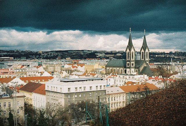 | ♕ |  Prague - from Castle hill  | by © evgenia kohan