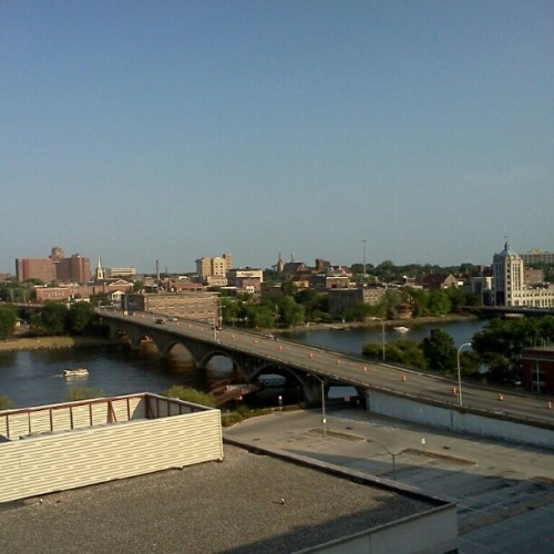 From earlier. Twas so hot out. #whataview #nofilter  (Taken with Instagram)