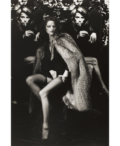 Charlotte Rampling, 1982, Helmut Newton Estate - Collection Maison Européenne de la Photographie, Paris