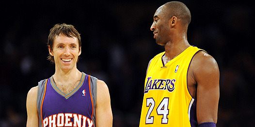 basedchicken:  Welcome to L.A Steve Nash.