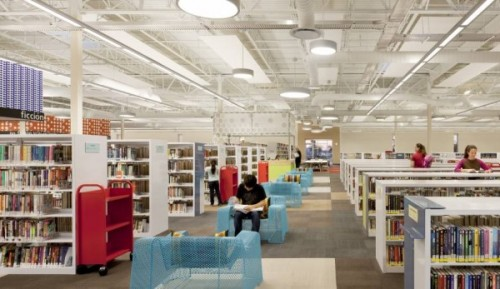 "thelifeguardlibrarian:  A Former Walmart Becomes the Most Compelling Library Story on Tumblr Since ""The 100 Most Beautiful Libraries in the World""  I'm voting this library for president."