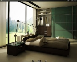homedesigning:  16 Green Color Bedrooms