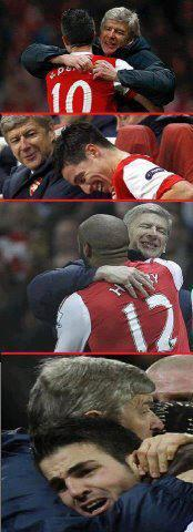 mechizzat:  this pic make me wanna cry..watching all Arsenal star leaving Wenger..(T_T)