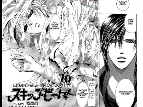 Skip Beat 190 has come!!!!