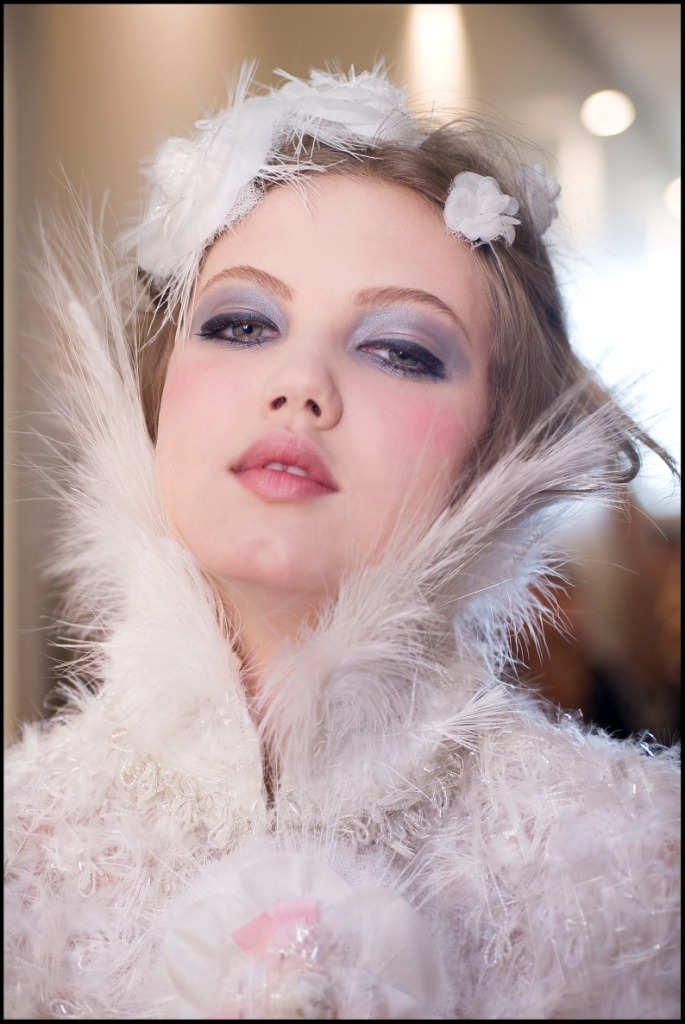 oystermag:  Chanel FW12/13 Haute Couture Beauty Looks