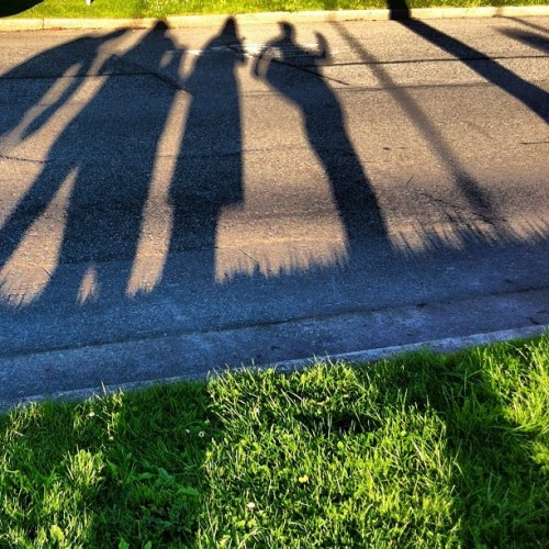 Celebrations. #julyphotochallenge #happybirthday #shadows #vancouver #sun #posey (Taken with Instagram)