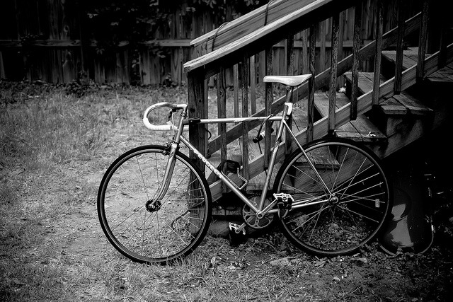 truemarmalade:  _B4D0001 on Flickr.  This is my Peugeot.