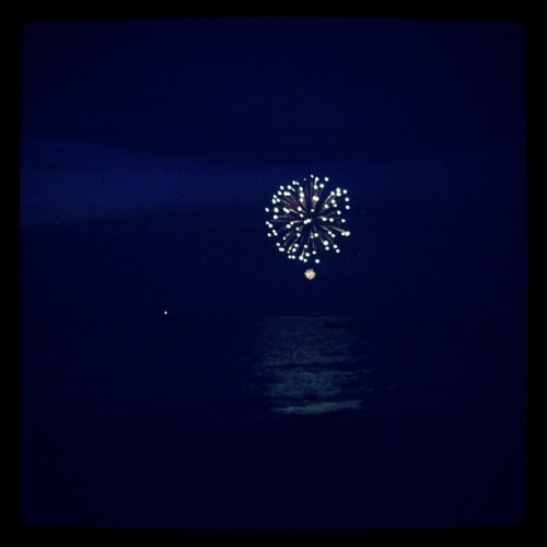#fourthofjuly #fireworks #summer #nantucket #night  (Taken with Instagram)