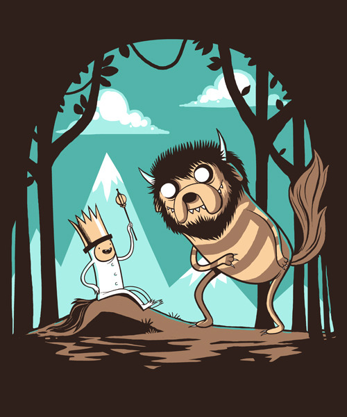 "Adventure Time (As ""Where the wild things are"")"
