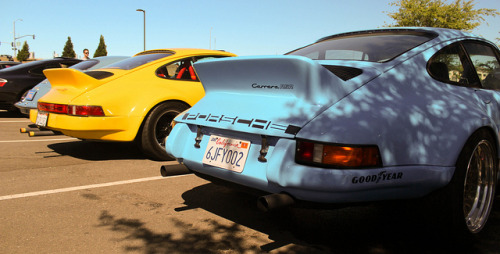 Porsche 911's on Flickr. taken by me