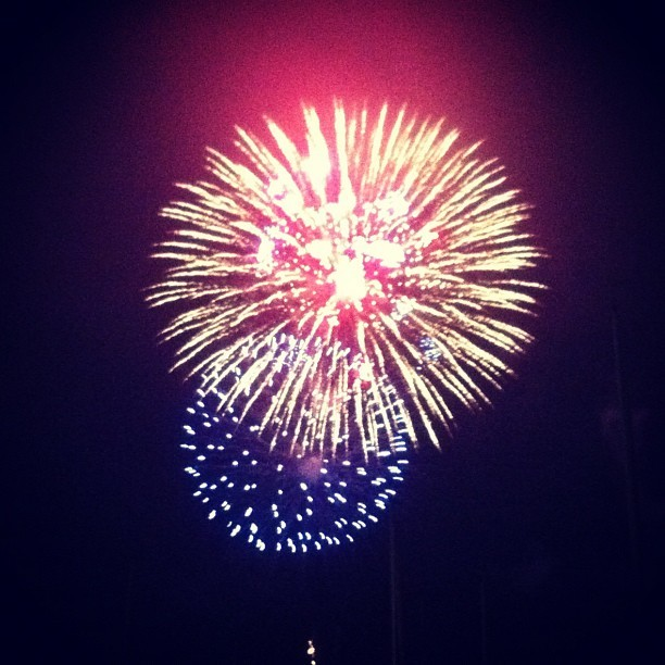 Obligatory 4th of July picture (Taken with Instagram)