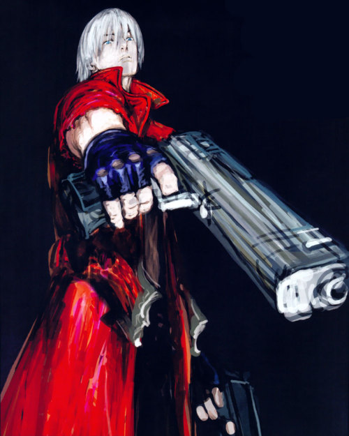 theomeganerd:  Devil May Cry 3 - Dante Illustration