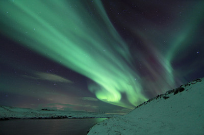croweyes:  Northern Lights Iceland (by Olgeir Andrésson)